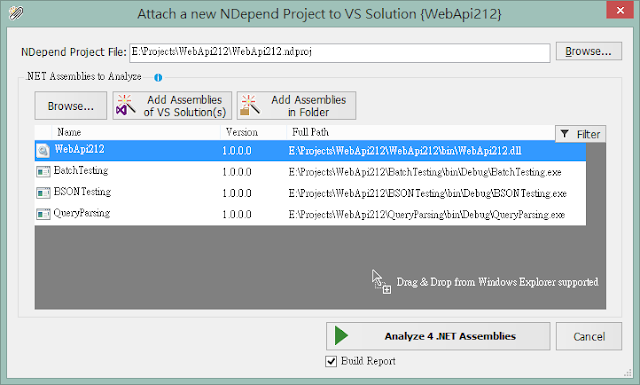 NDepend v5 practice 3