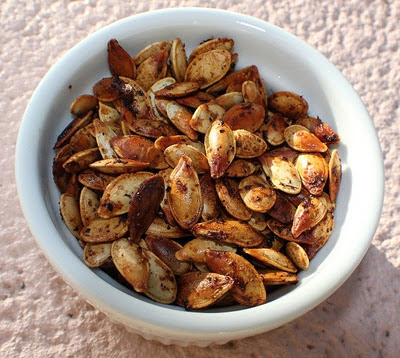 Italian Style Roasted Pumpkin Seeds , by What's Cookin' Italian ...