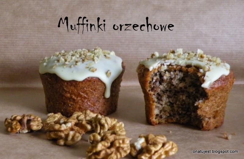 muffinki orzechowe
