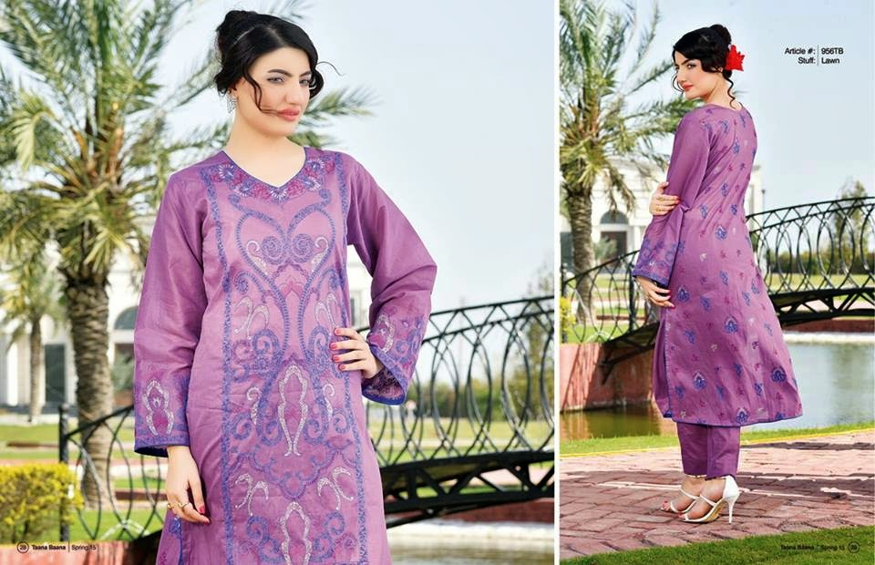 Taana Baana Summer Lawn Collection 2015