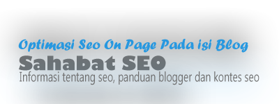 Optimasi Seo On Page pada isi Blog