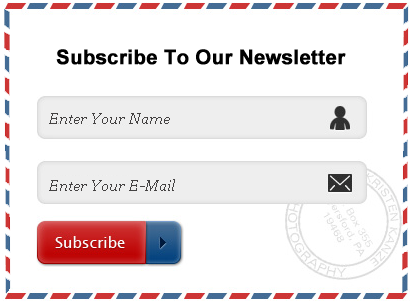 Newsletter Form Style 4