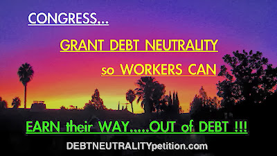 Please SIGN the DEBT NEUTRALITY PETITION