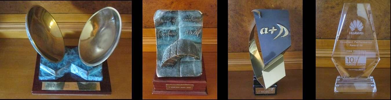 Varios premios recibidos