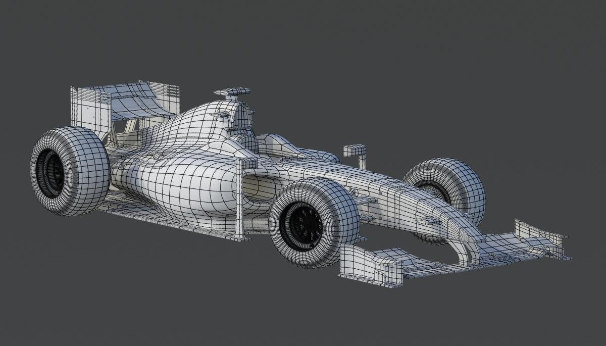3D WORKS: Formula 1 race car circa 2009