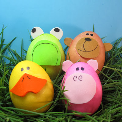 Easter Egg Decorating Ideas For Kids 7