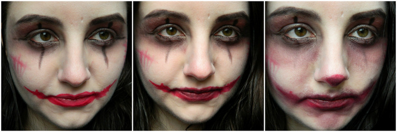 Easy Halloween Makeup: The clown