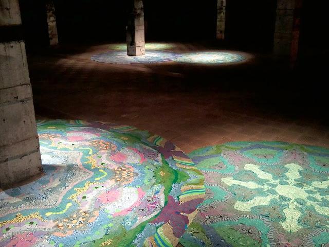El matadero, Madrid, Exposiciones, Cenotes, Magdalena Atria, Plastelina, Instalaciones, Arte contemporáneo, Blog de Arte, Voa Gallery, Yvonne Brochard,