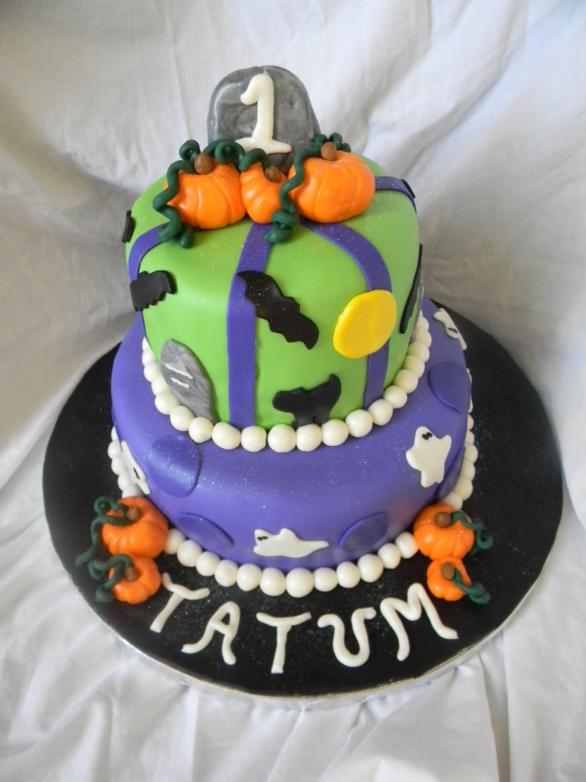 Jesicakes Halloween First Birthday