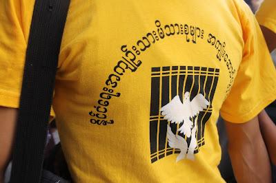 >Saffron Anniversary Protesters arrested at night