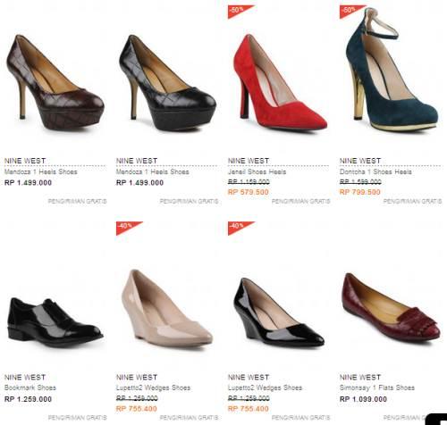 Jual Sepatu Nine West Original Terbaru