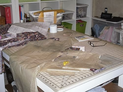 If i don t my sewing table is going to look like this all week