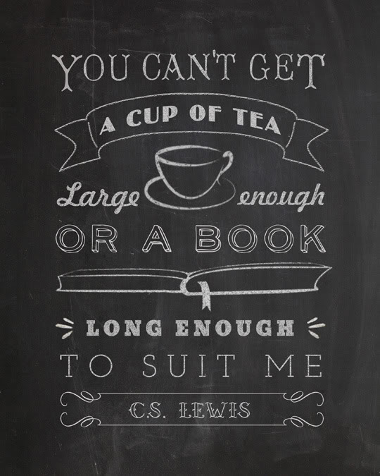 CS. Lewis Quote