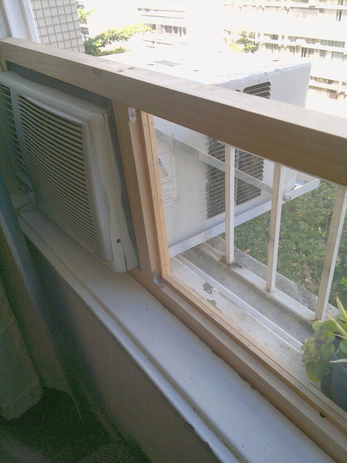 #5F5140  Eletricista: Como instalar um ar condicionado na janela guilhotina 4212 Instalar Ar Condicionado Janela Apartamento