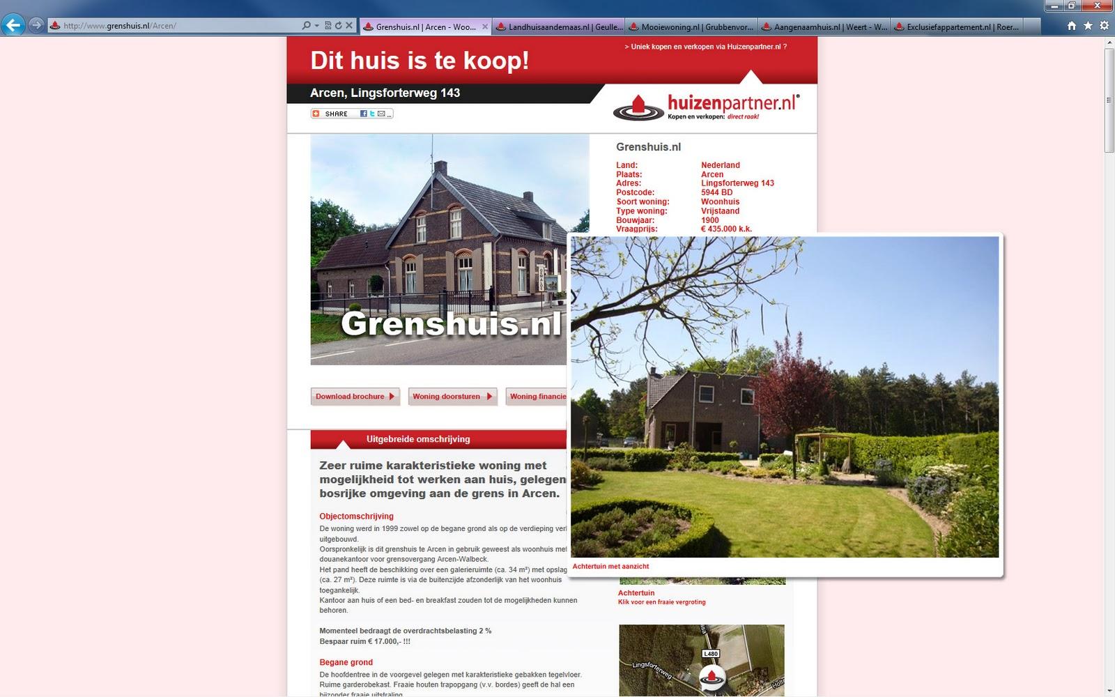 Digitaal je huis verkopen for Huis programma tv