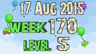 Angry Birds Friends Tournament level 5 Week 170