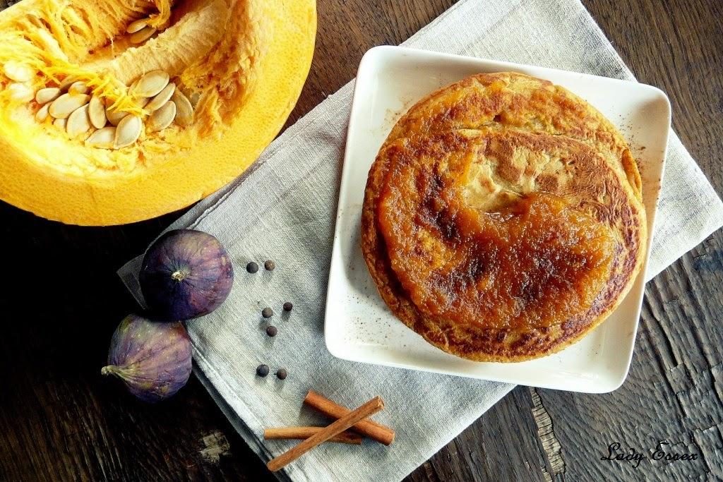 Haitańskie dyniowe Pancakes