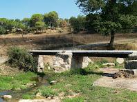 La Passera de Vilanova sobre la Riera de Clarà