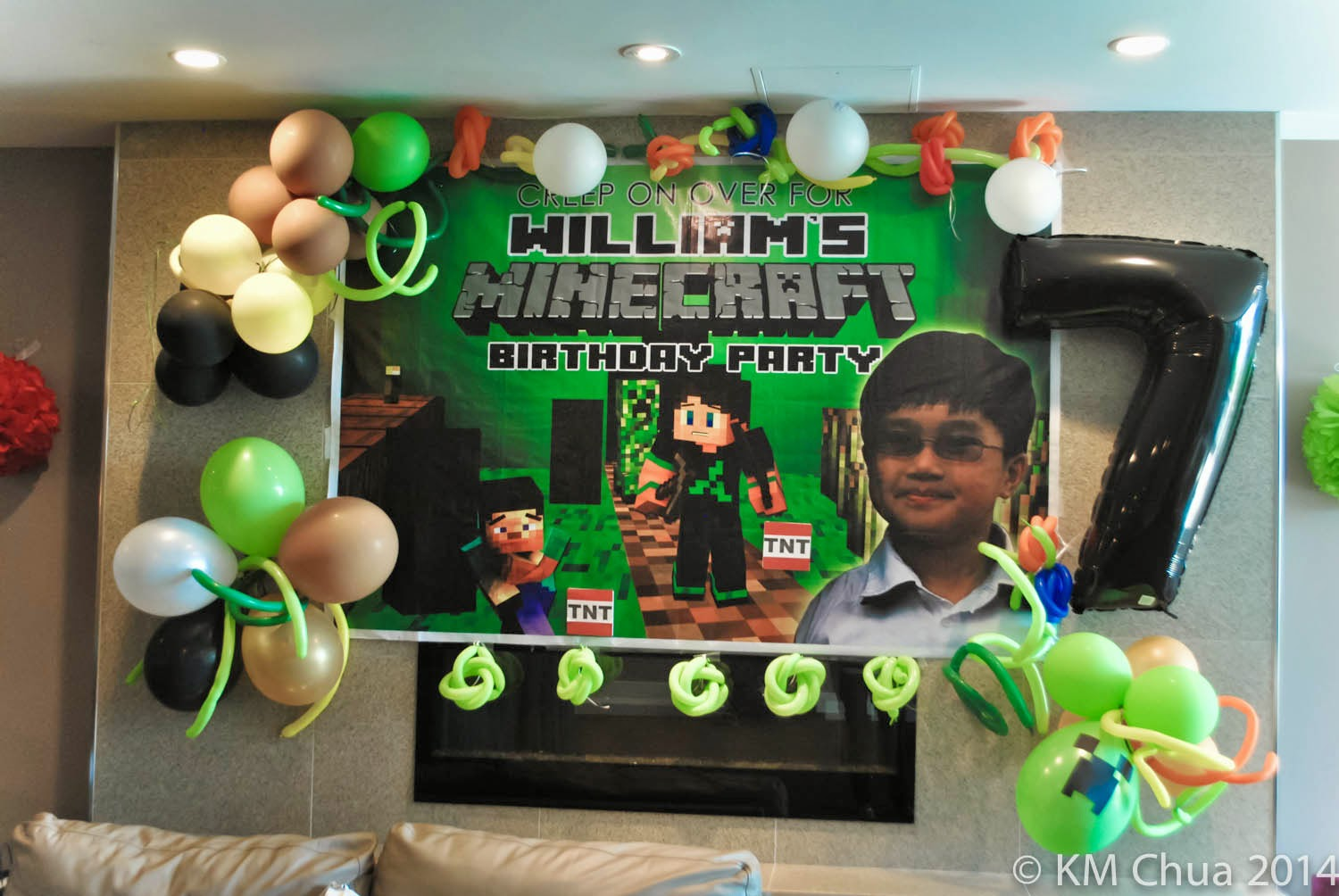 treasured ents william s 7th minecraft party