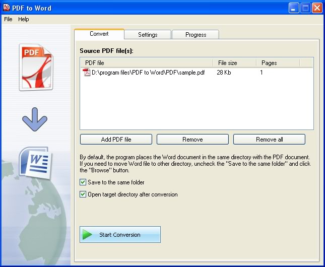 Download Quick Pdf To Word Converter v2.2 Final Full Crack Free Download