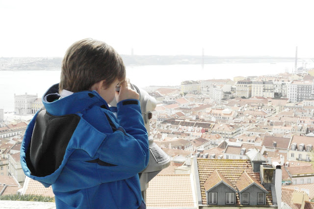 View of Lisbon from Alfama Saint George's Castle