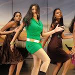 Sweta Basu Prasad Dance in Green Dress  Photo Gallery