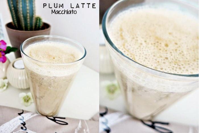Plum Latte Macchiato