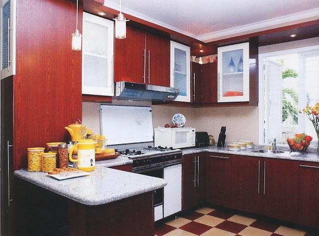 Gambar Model Dapur Minimalis Mewah
