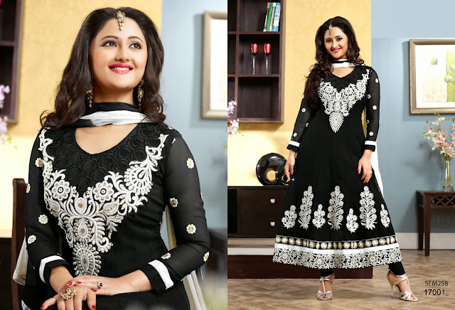 Latest Designer Rashmi Desai Ankle Length Anarkali suit