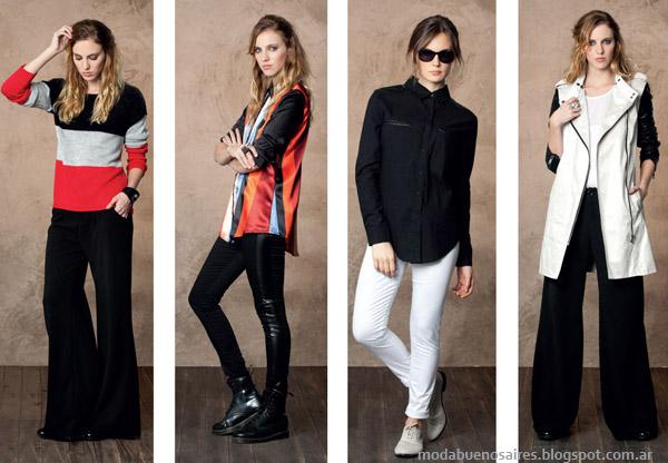 Nucleo Moda otoño invierno 2014. Moda otoño invierno 2014 Pantalones de vestir y abrigos, ropa de mujer.