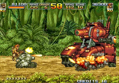 Metal Slug 1,2 Games Free Download