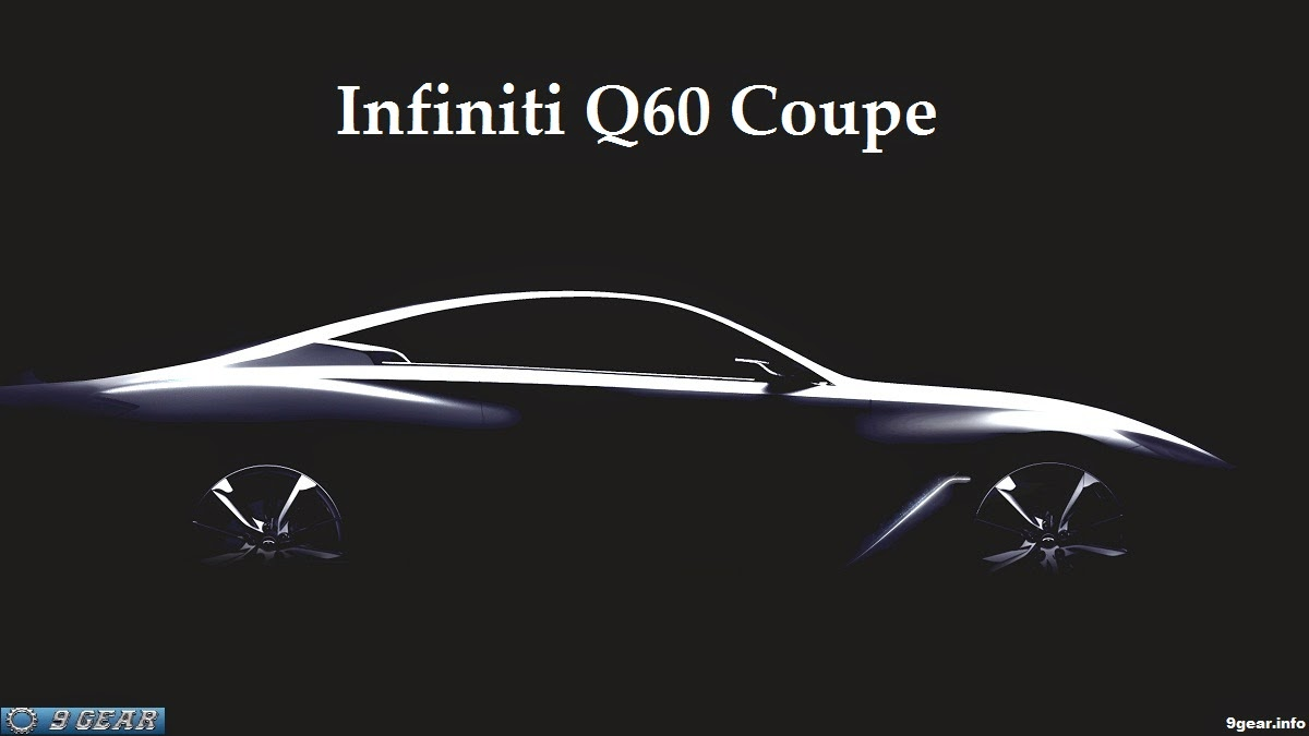 2015 and 2016 Model Year: New 2016 Infiniti Q60 Coupe Release Date