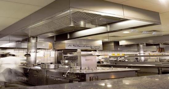 R gles de conception d 39 une cuisine professionnelle pour for Ventilation cuisine gaz
