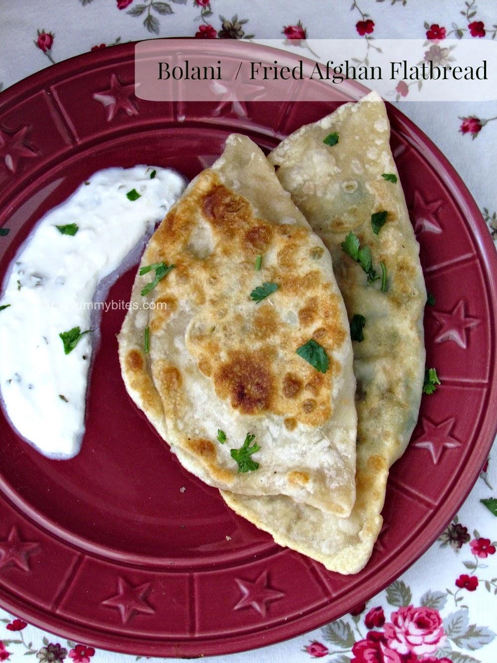 Bolani  / Fried Afghan Flatbread