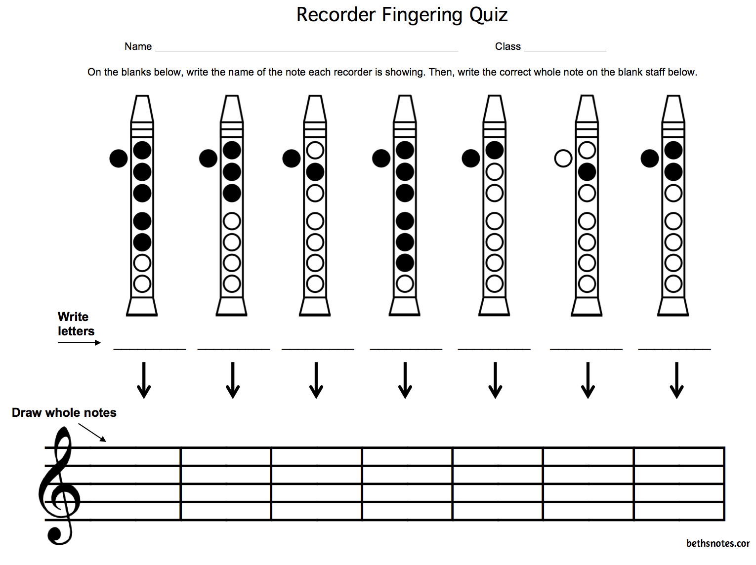 recorder lessons for beginners pdf