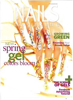 VivCat Cover - Nails Magazine