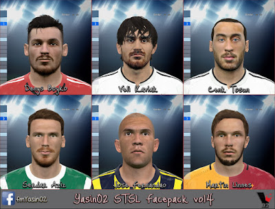 PES 2016 STSL FACEPACK VOL 4 BY YASIN02