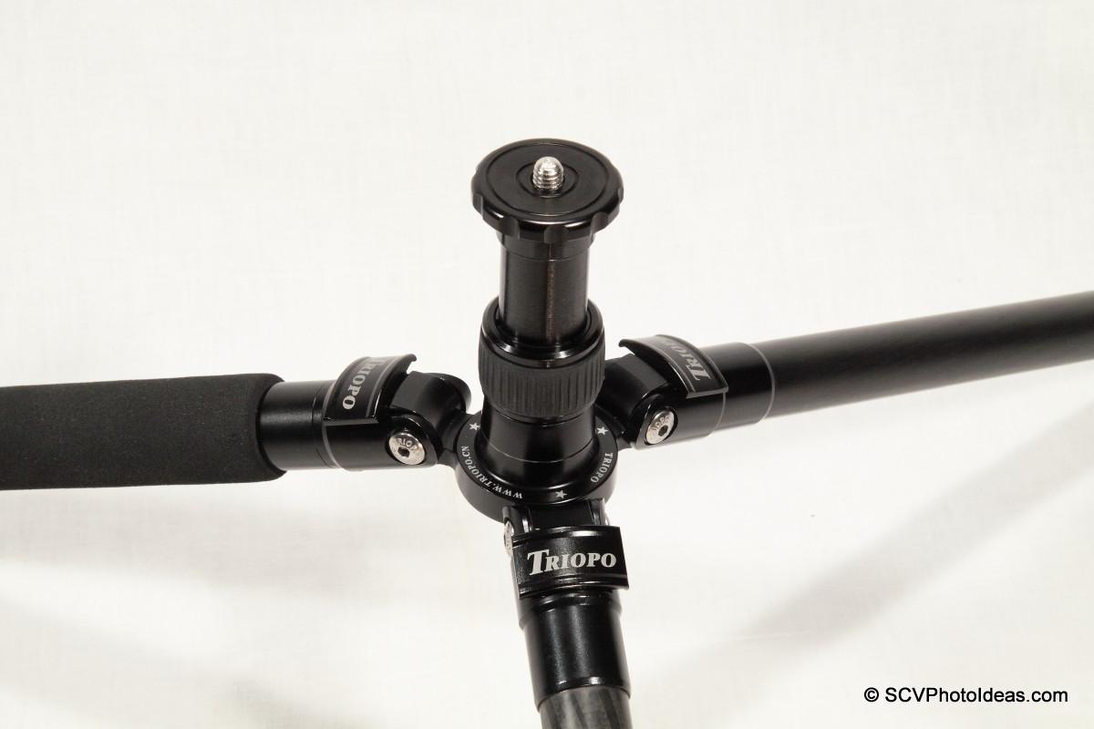 Triopo GT-3228X8C lowest pos w/ short center column installed