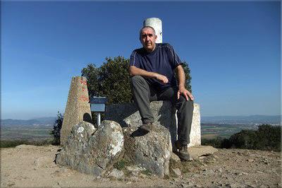 Amaritu mendiaren gailurra 787 m. -- 2012ko martxoaren 14an
