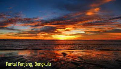 Sunset Pantai Panjang, Bengkulu