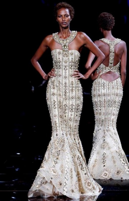 Style sense down the isle the african way for Haute couture houses