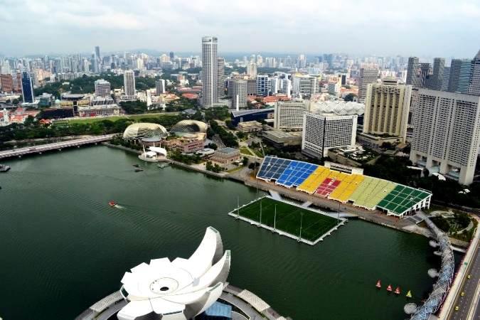 Stadion Terapung Terbesar Di Dunia