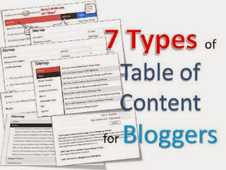 Add Stylish Table of Content or Sitemap in Bloggers
