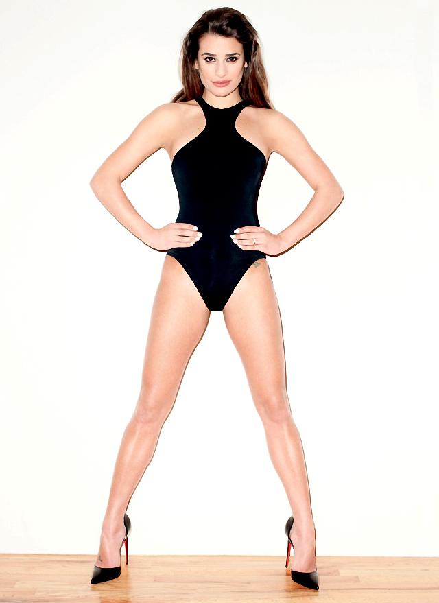 Lea Michele se ve y se siente sexy para Vmagazine