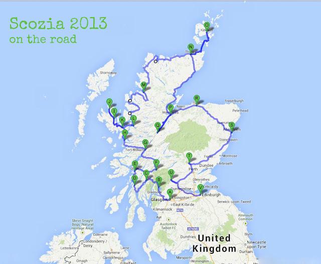 scozia 2013: preparazione, consigli ed itinerario