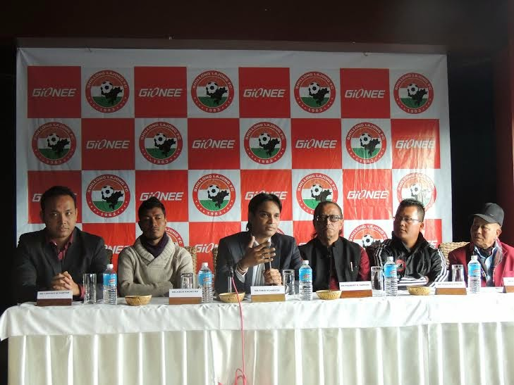 Gionee tie up with Shillong Lajong FC