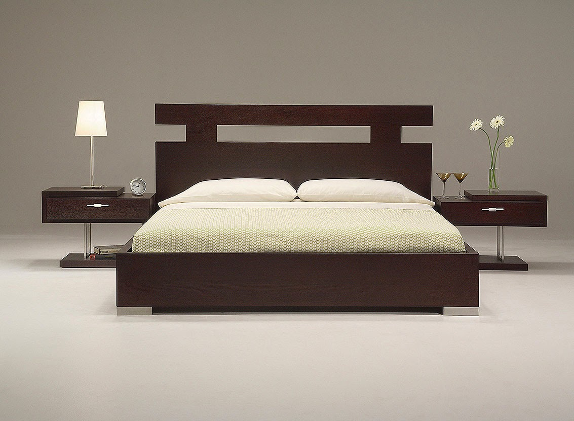 Modern bed ideas modern home design decor ideas - Contemporary wooden bedroom furniture ...