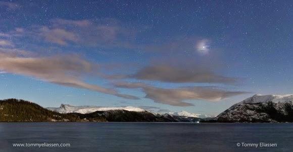 FOTO: Oposisi Mars dari Norwegia