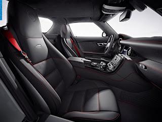 Mercedes sls interior - صور مرسيدس sls من الداخل