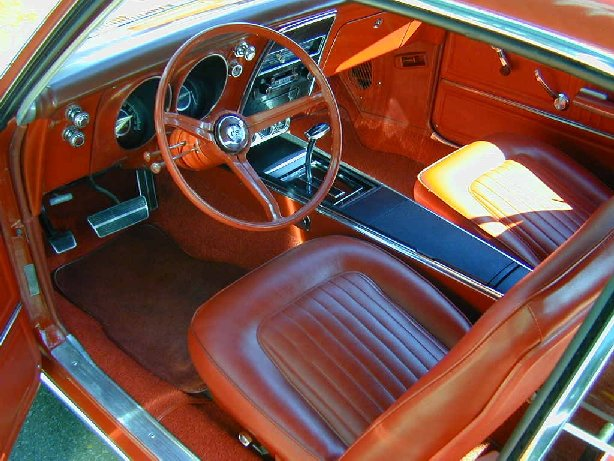 1967  1969 Camaro Muscle Cars Interior: Models And Colors